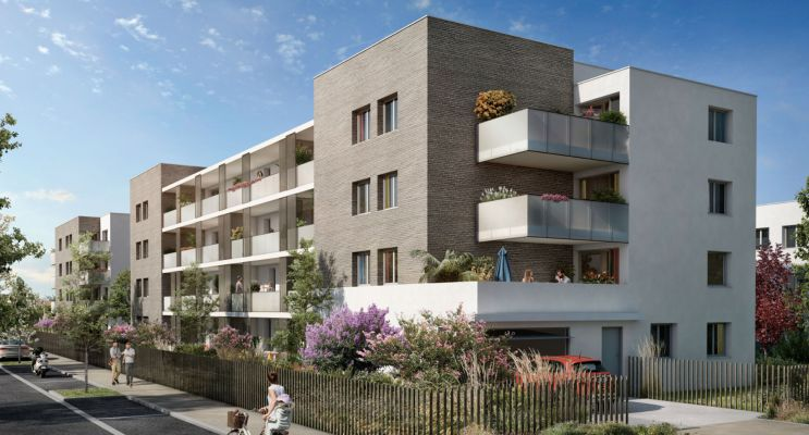 Colomiers : programme immobilier neuf « Symbioz » en Loi Pinel