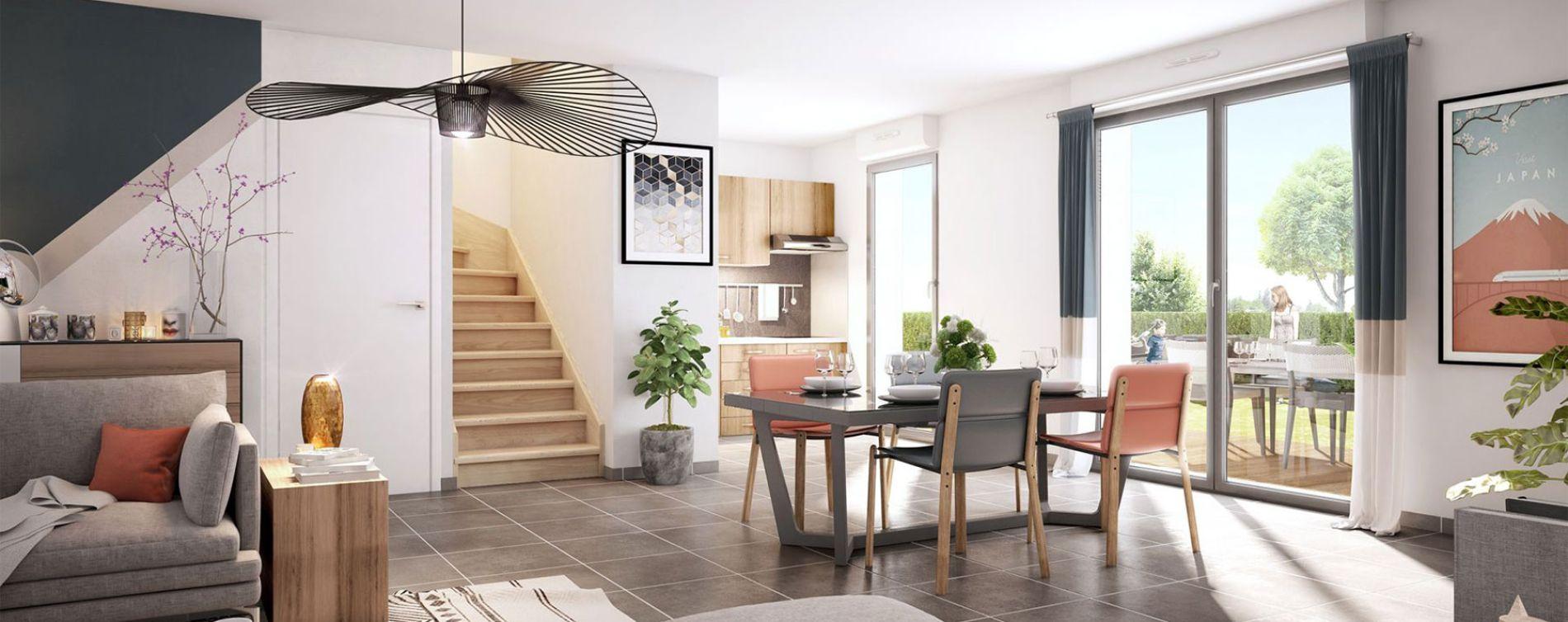 Colomiers : programme immobilier neuve « Villas Confidence » en Loi Pinel (4)