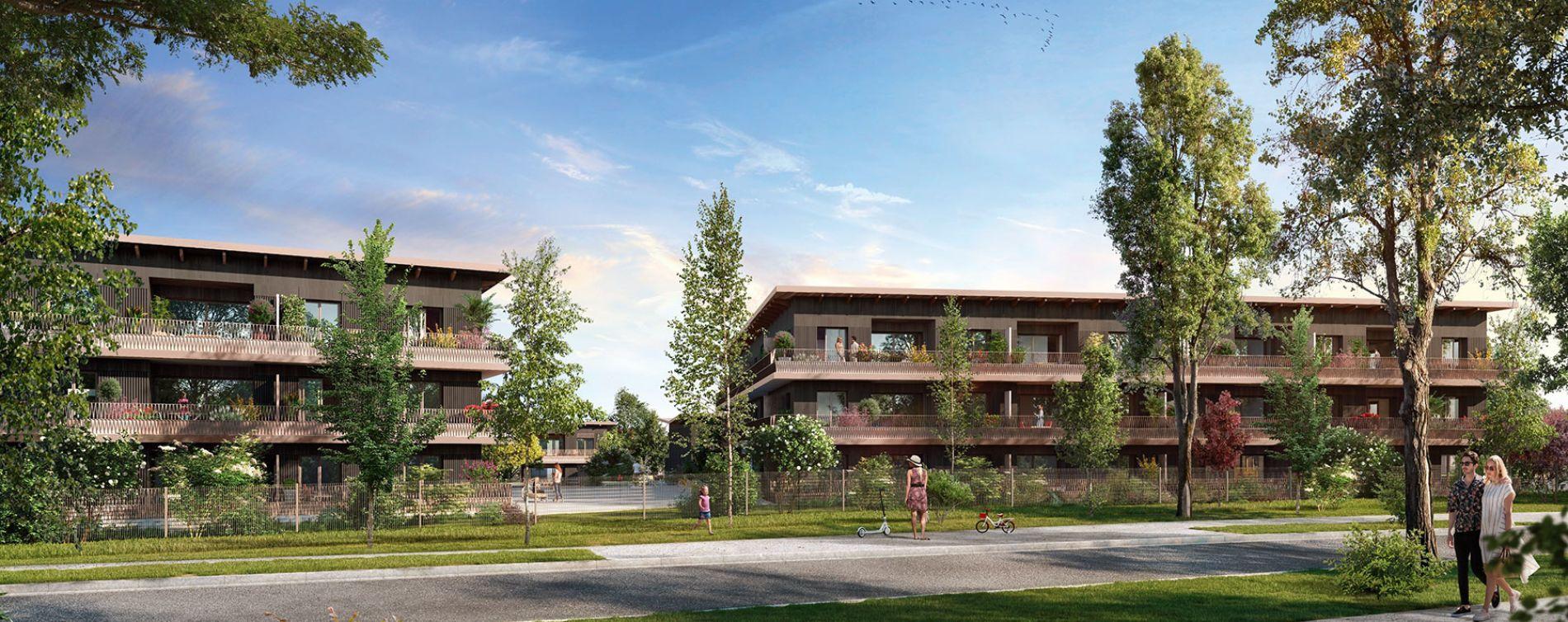Cornebarrieu : programme immobilier neuve « Carré Flore » en Loi Pinel