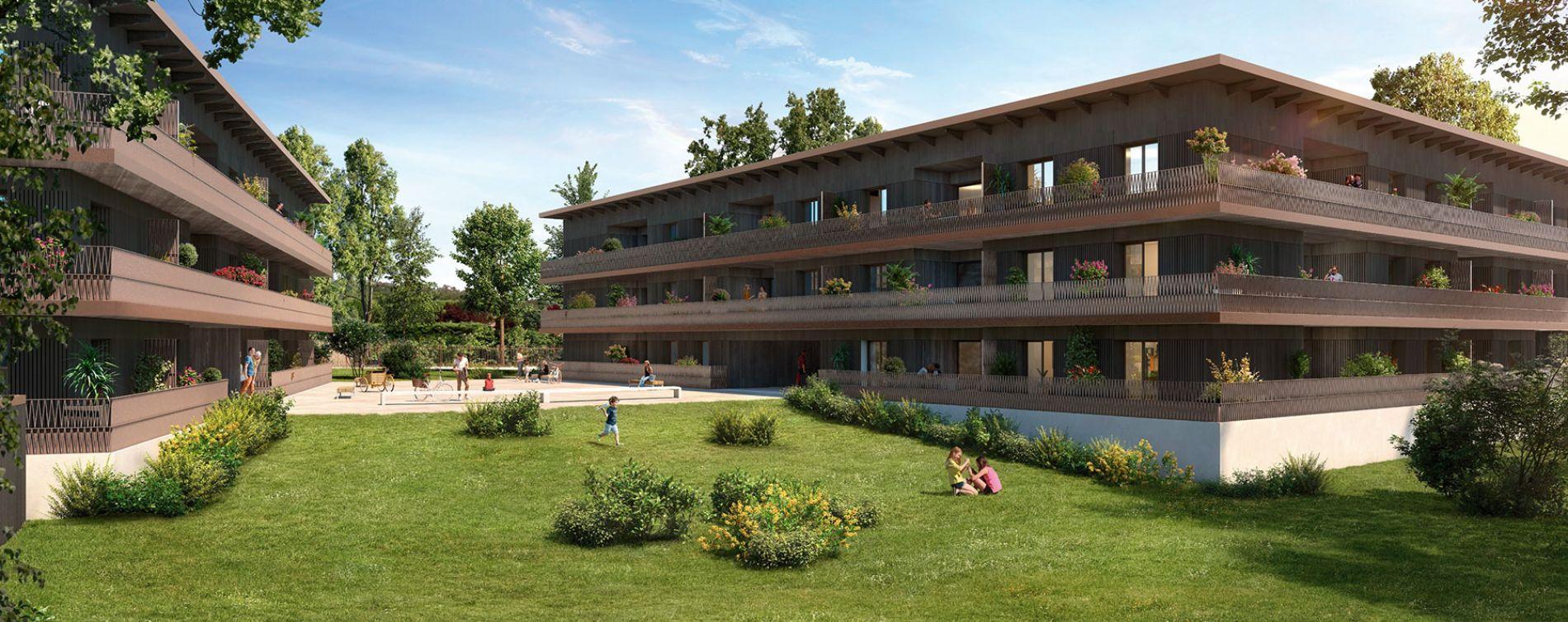 Cornebarrieu : programme immobilier neuve « Carré Flore » en Loi Pinel (2)