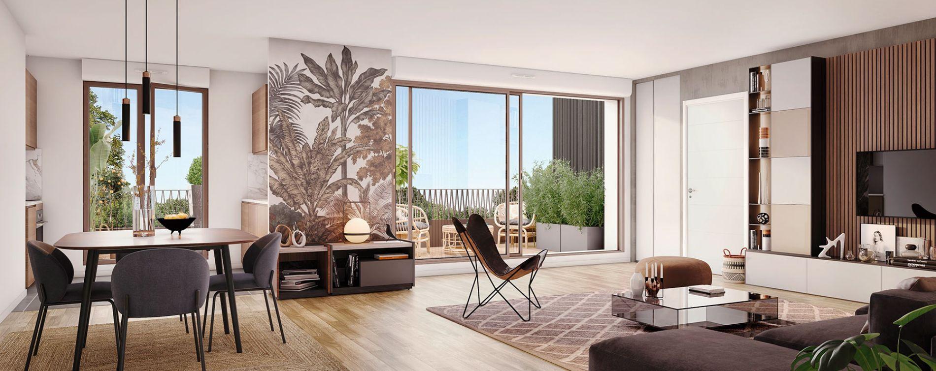 Cornebarrieu : programme immobilier neuve « Carré Flore » en Loi Pinel (3)