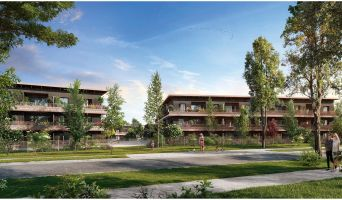 Photo du Résidence « Carré Flore » programme immobilier neuf en Loi Pinel à Cornebarrieu