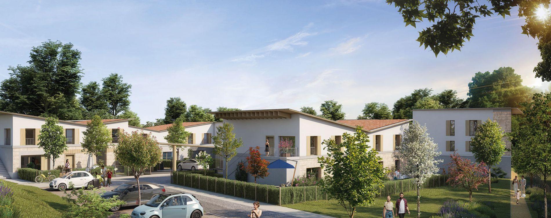 Cornebarrieu : programme immobilier neuve « Pachamama » en Loi Pinel