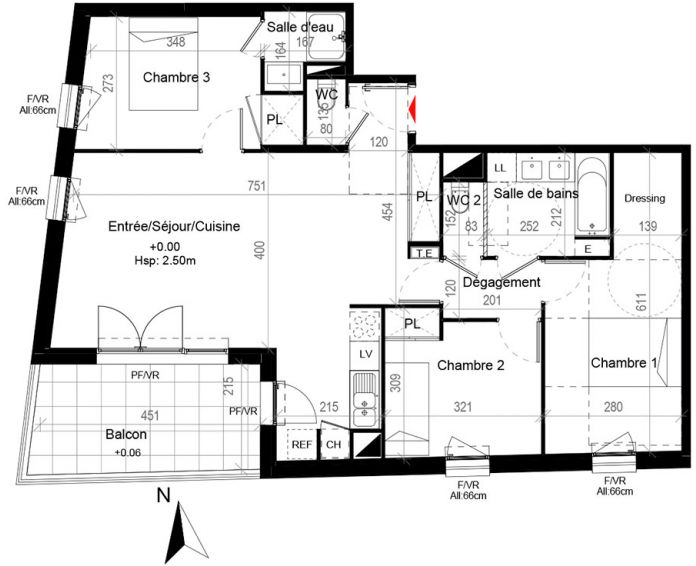 Appartement Cugnaux
