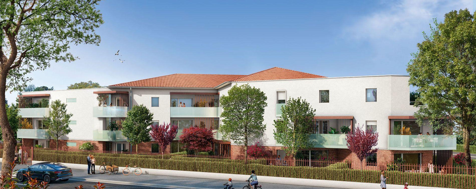 Cugnaux : programme immobilier neuve « Le Saint Vincent » en Loi Pinel (2)