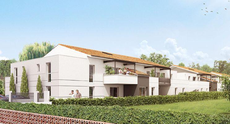 Résidence « Le Triolet » programme immobilier neuf en Loi Pinel à Cugnaux