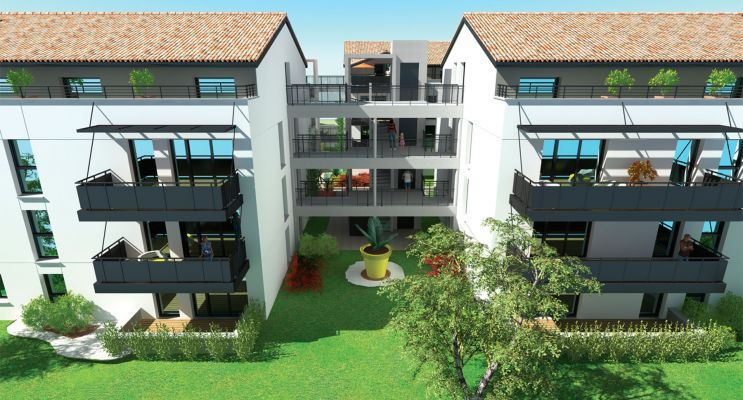 Photo du Résidence « Les 4 As 2 » programme immobilier neuf en Loi Pinel à Cugnaux