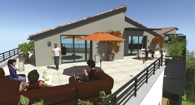 Cugnaux : programme immobilier neuf « Les 4 As » en Loi Pinel