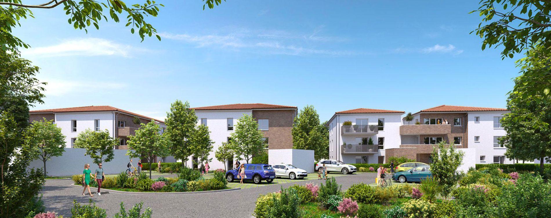 Cugnaux : programme immobilier neuve « Les Jardins de Charles » en Loi Pinel (2)