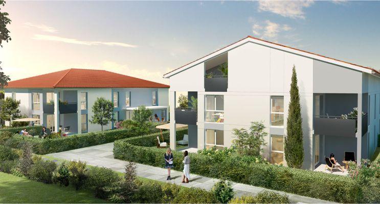 Photo du Résidence « Les Jardins d'Elodie » programme immobilier neuf en Loi Pinel à Cugnaux