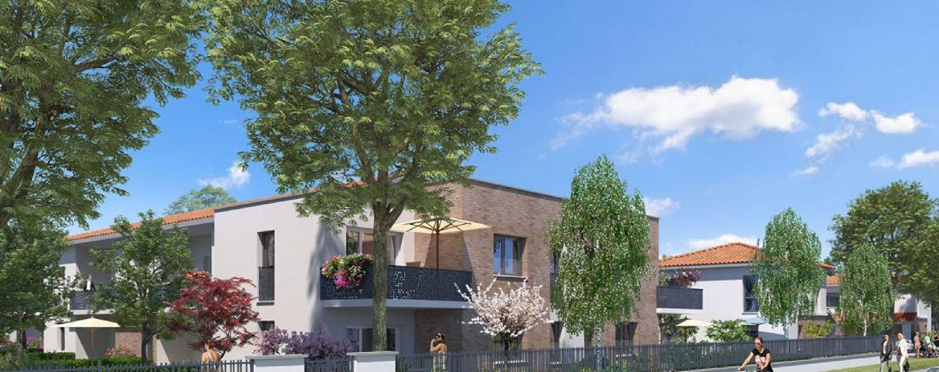 Cugnaux : programme immobilier neuve « Programme immobilier n°216127 » en Loi Pinel