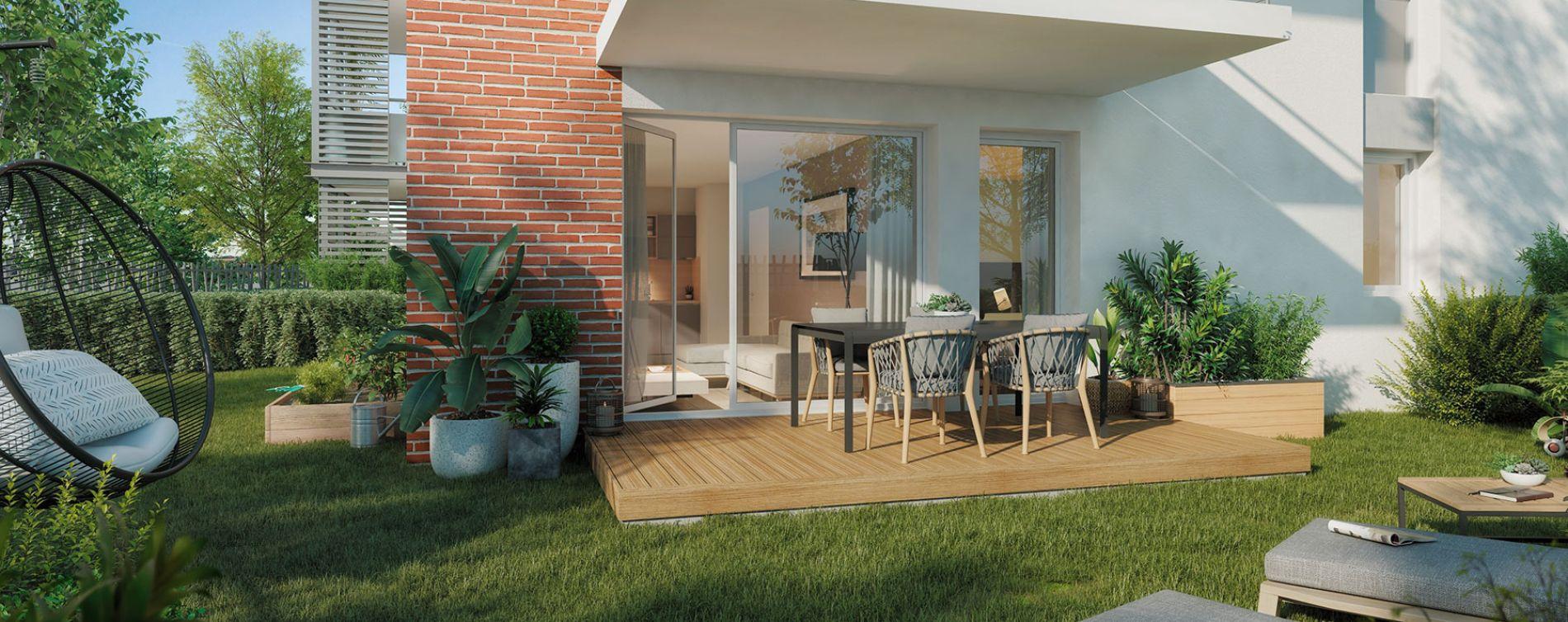 Eaunes : programme immobilier neuve « Le Belcanto » en Loi Pinel (3)