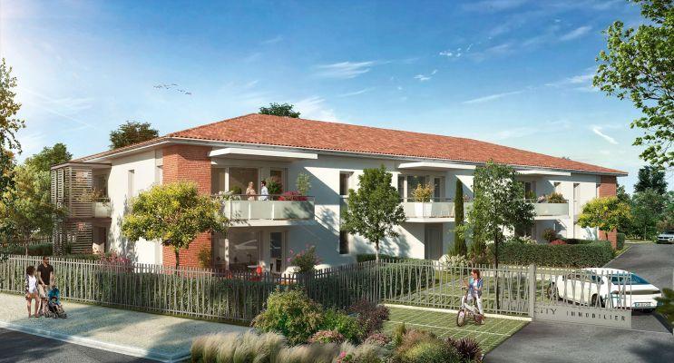 Eaunes : programme immobilier neuf « Le Belcanto » en Loi Pinel
