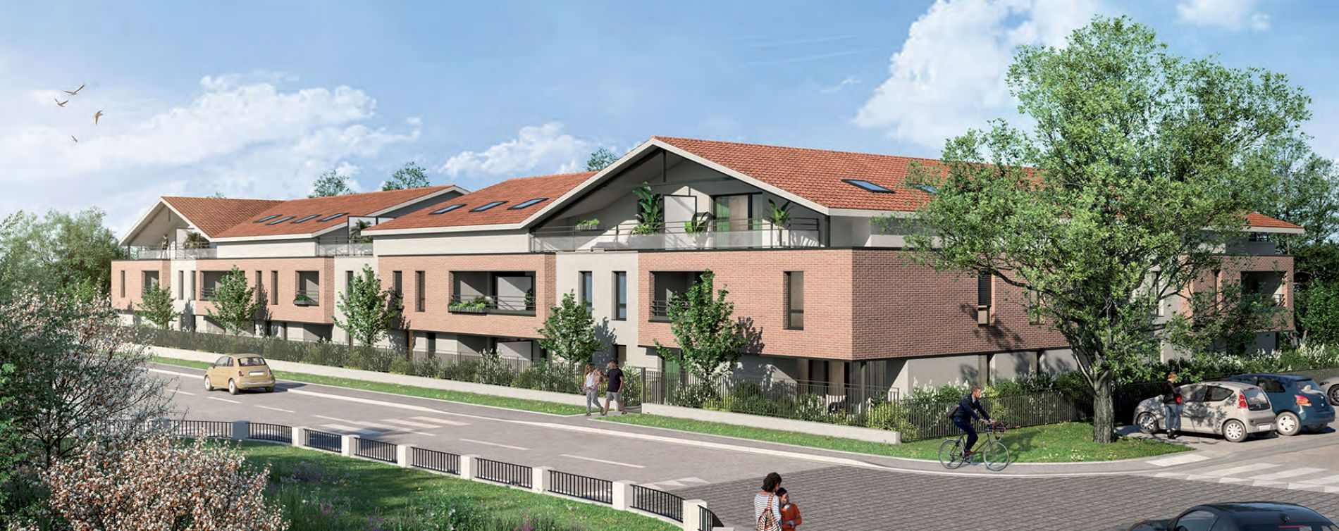 Escalquens : programme immobilier neuve « L´Initiale » en Loi Pinel
