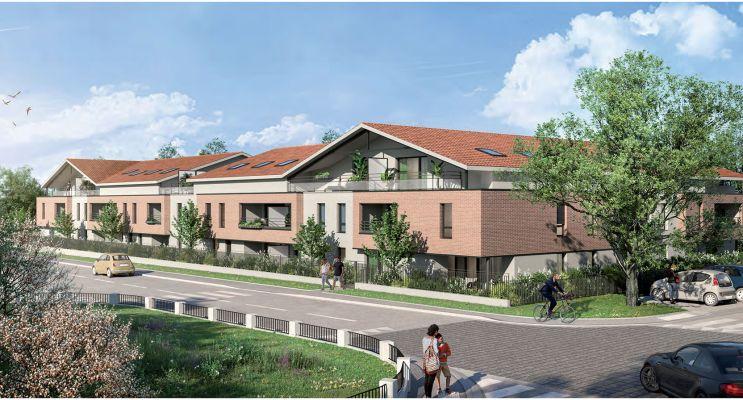 Escalquens programme immobilier neuf « L´Initiale » en Loi Pinel