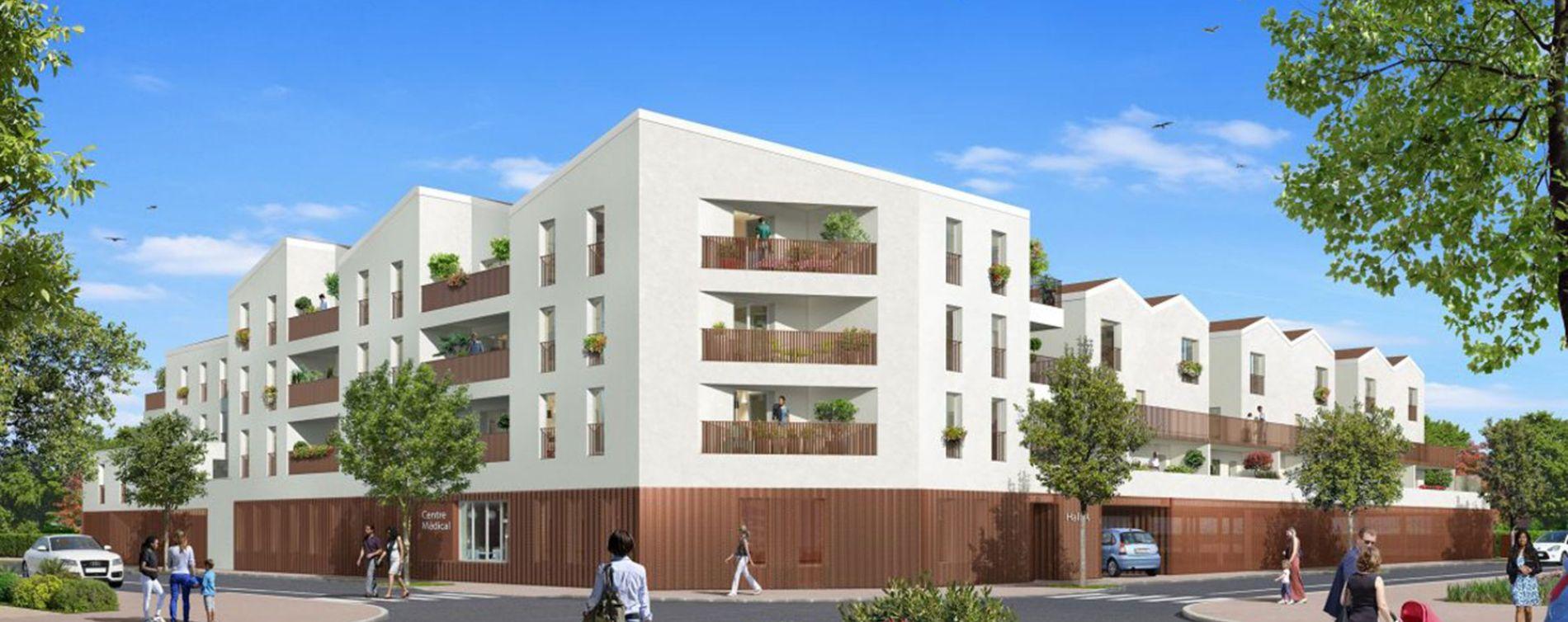 Fenouillet : programme immobilier neuve « Esprit Matisse »