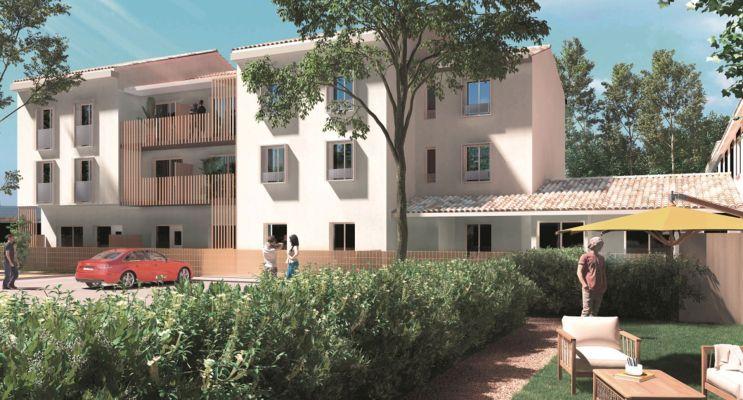 Fonbeauzard : programme immobilier neuf « Le clos des Pins » en Loi Pinel