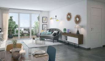 Photo n°3 du Résidence « Les Jardins Mimosa » programme immobilier neuf en Loi Pinel à Fonbeauzard