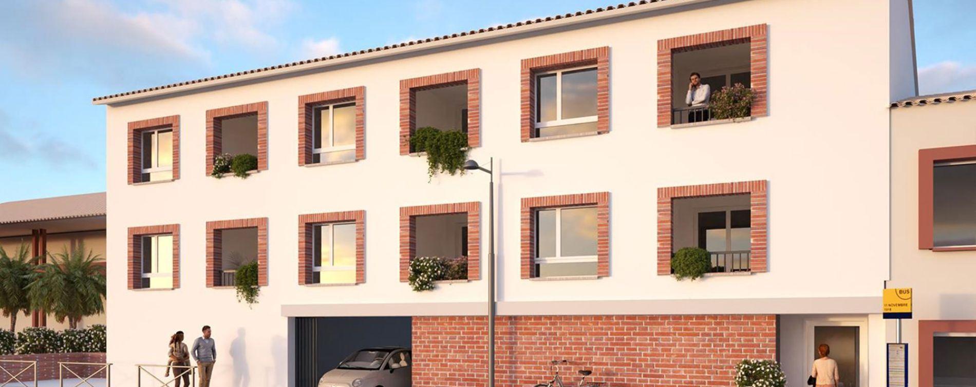Fonsorbes : programme immobilier neuve « Domaine des Sorbiers »