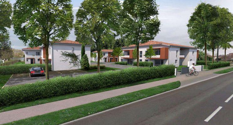 Photo du Résidence « Le Domaine des Albizias » programme immobilier neuf en Loi Pinel à Fonsorbes