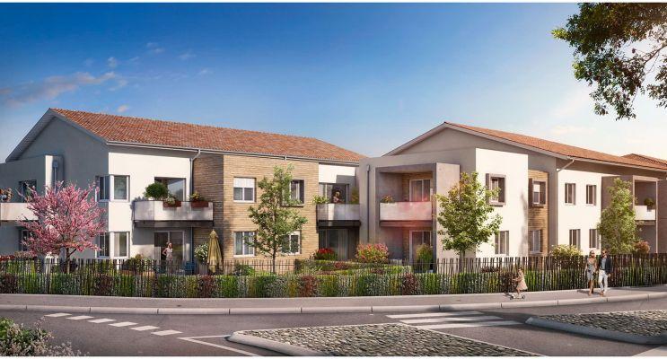 Résidence « Cours Du Lac » programme immobilier neuf en Loi Pinel à Frouzins n°1