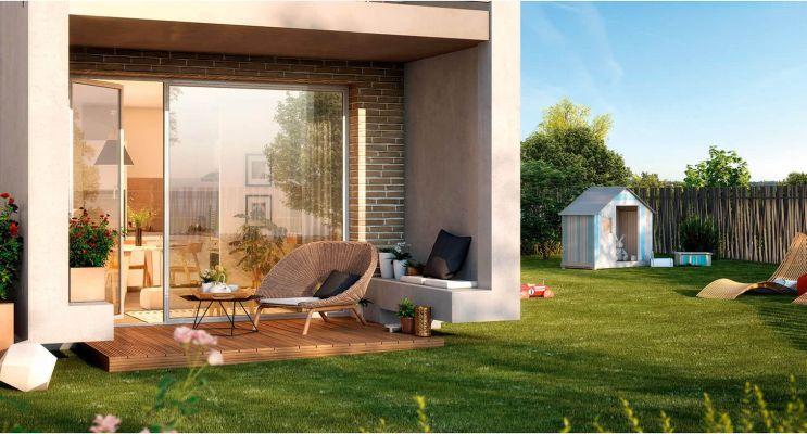 Résidence « Cours Du Lac » programme immobilier neuf en Loi Pinel à Frouzins n°2