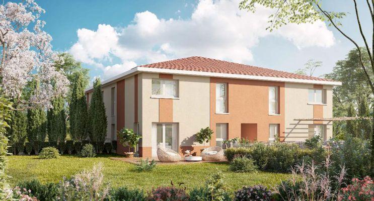 Photo du Résidence « Les Carrés Duo » programme immobilier neuf à Gragnague