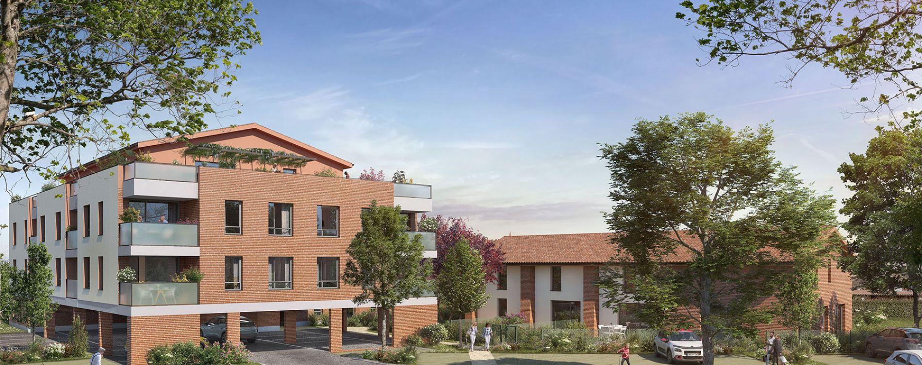 Labarthe-sur-Lèze : programme immobilier neuve « Cours Pelissier » en Loi Pinel (2)