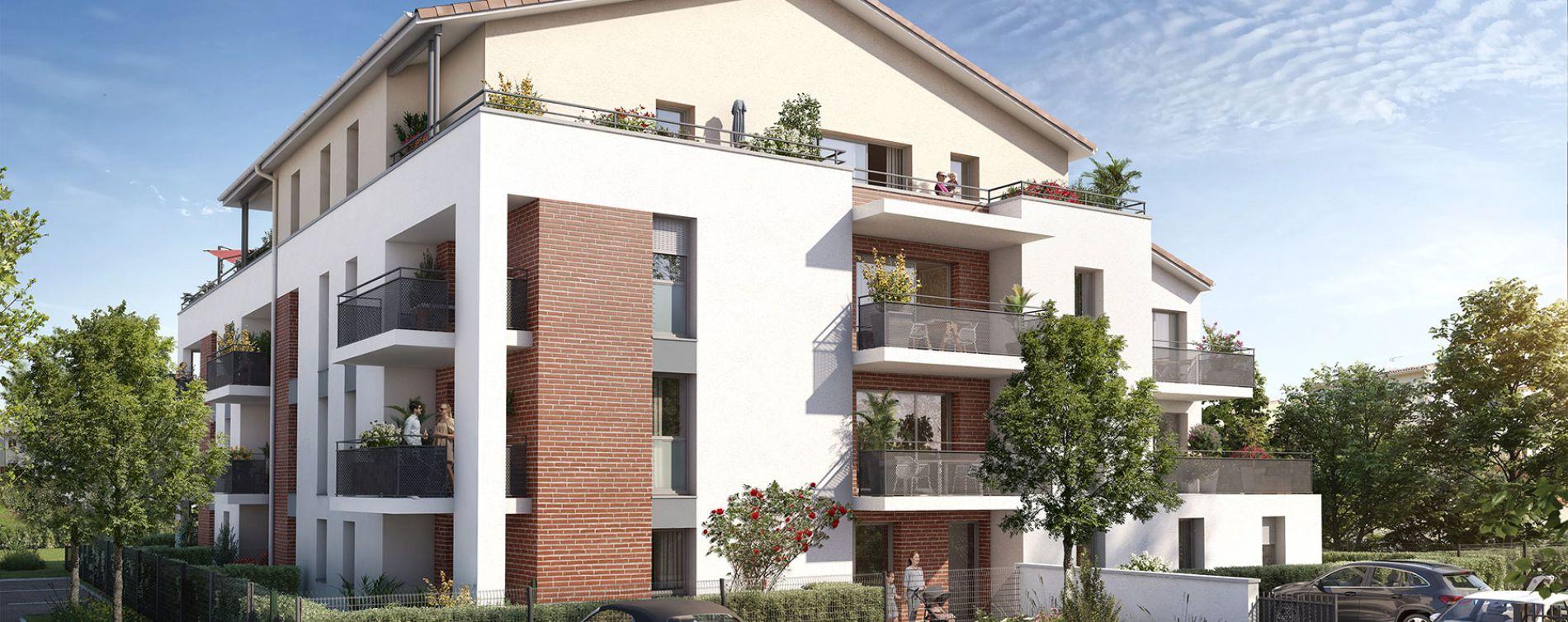 Labarthe-sur-Lèze : programme immobilier neuve « Le Charleston » en Loi Pinel