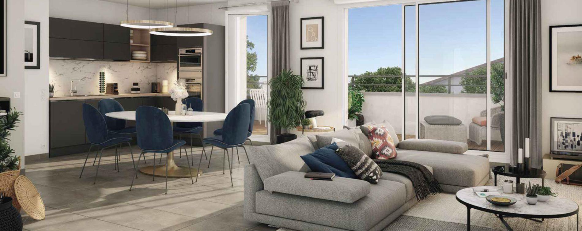 Labarthe-sur-Lèze : programme immobilier neuve « Le Charleston » en Loi Pinel (3)