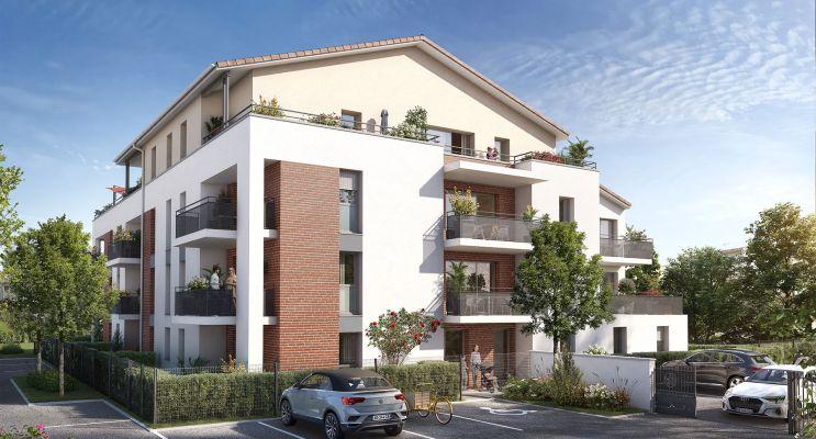 Labarthe-sur-Lèze : programme immobilier neuf « Le Charleston » en Loi Pinel