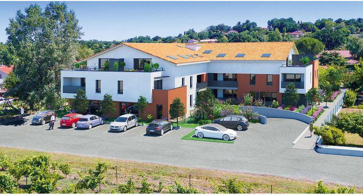 Photo du Résidence « Un Air de Cocagne » programme immobilier neuf en Loi Pinel à Labège