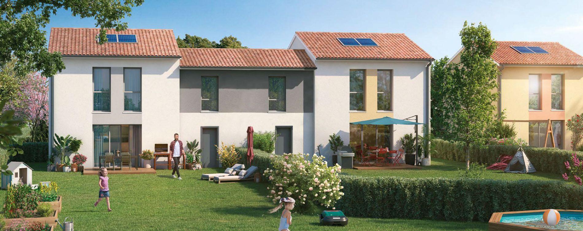 Launaguet : programme immobilier neuve « Au Fil de Lô »