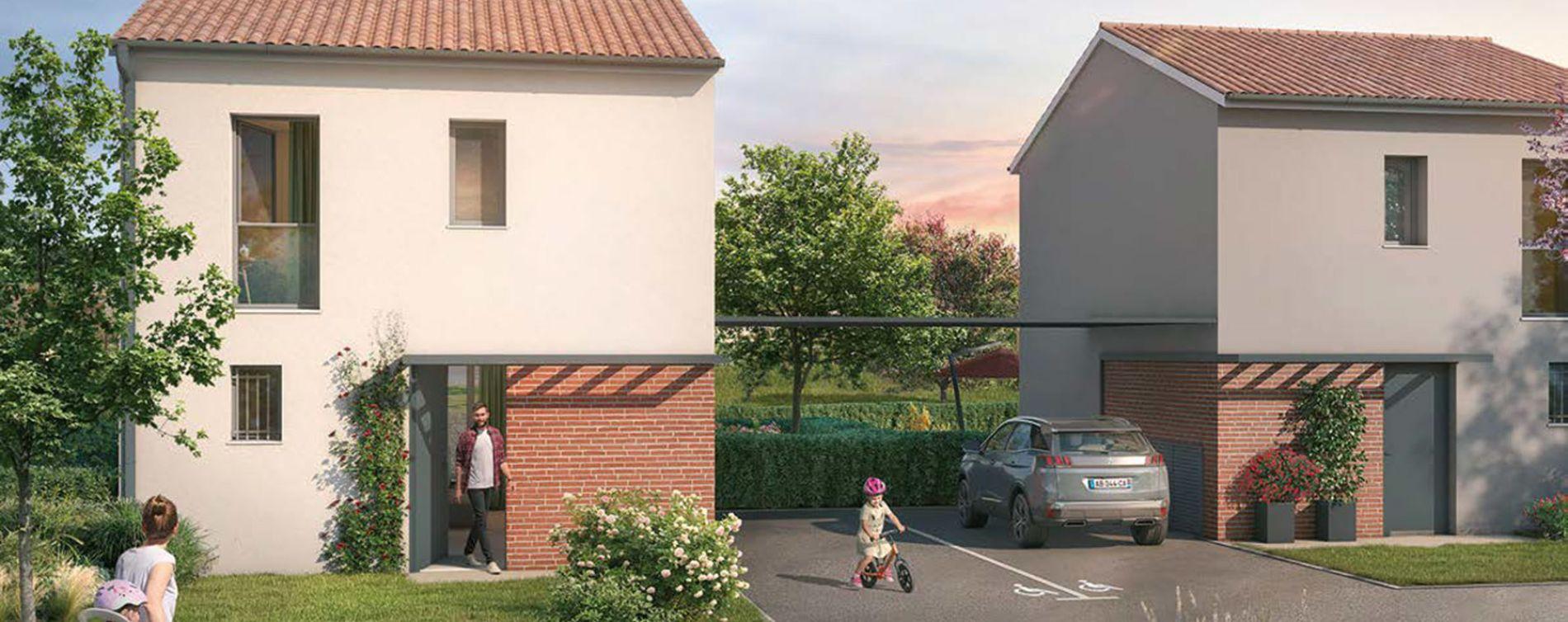 Launaguet : programme immobilier neuve « Au Fil de Lô » (2)