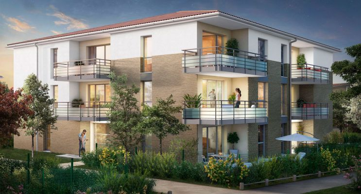 Lespinasse : programme immobilier neuf « Canal Rive Gauche 2 » en Loi Pinel