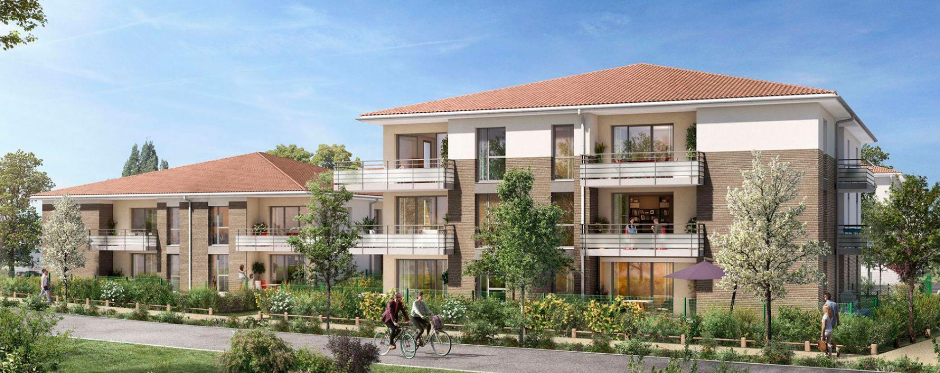 Lespinasse : programme immobilier neuve « Canal Rive Gauche » en Loi Pinel