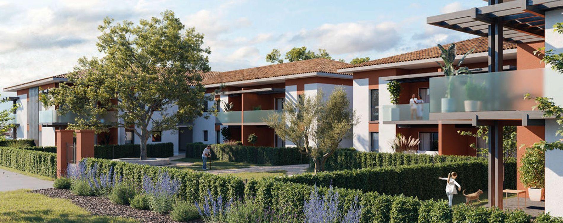 Lespinasse : programme immobilier neuve « Jardin d'Autrefois »
