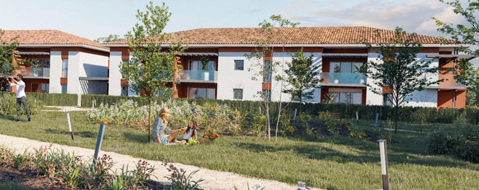 Lespinasse : programme immobilier neuve « Jardin d'Autrefois » (2)