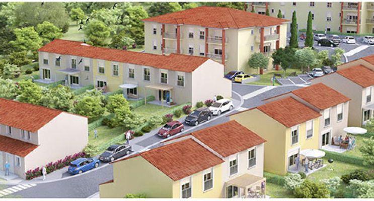 Photo du Résidence « Les Jardins de Bouconne » programme immobilier neuf à Lévignac