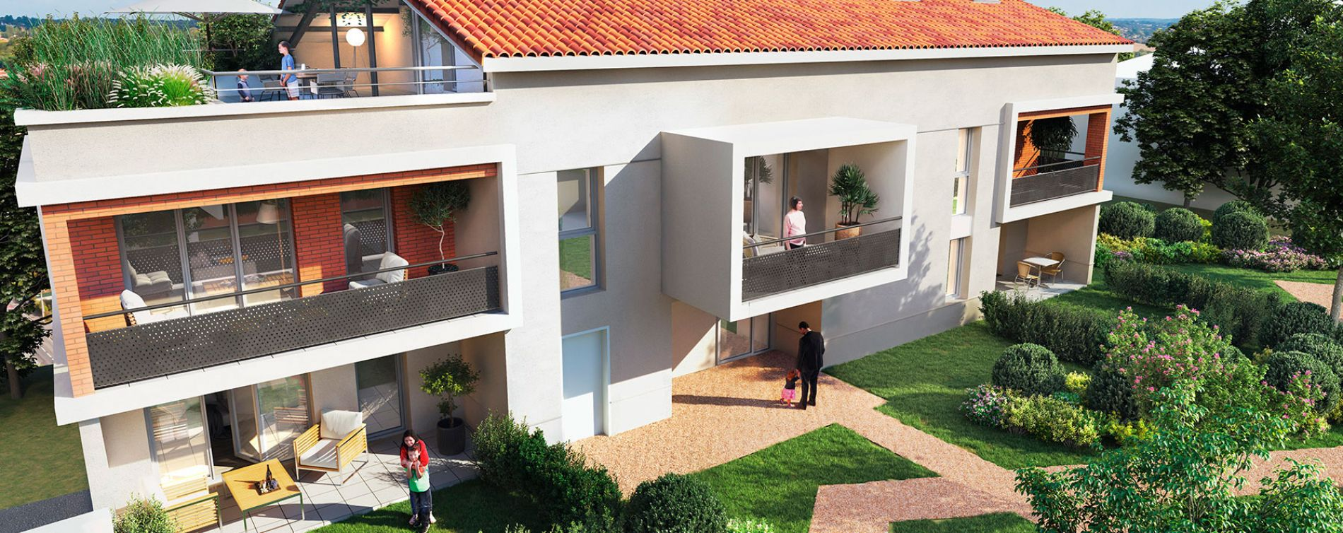L'Union : programme immobilier neuve « Vilanova » en Loi Pinel (2)