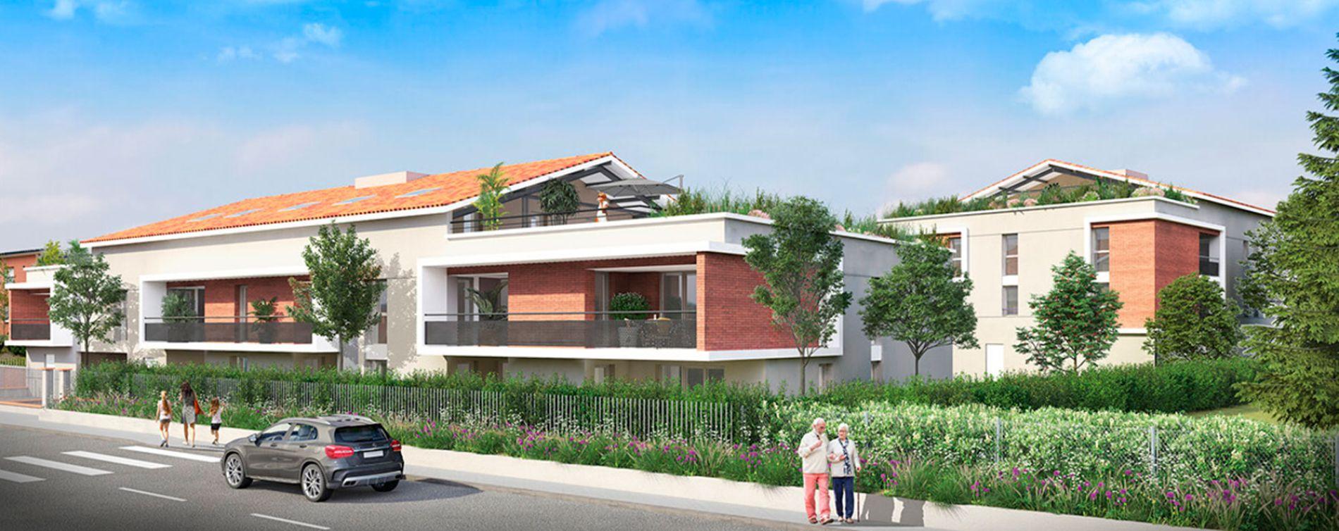 L'Union : programme immobilier neuve « Vilanova » en Loi Pinel (3)