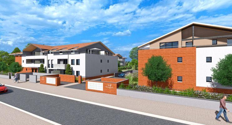 Résidence « Le 14 Cantegril » programme immobilier neuf en Loi Pinel à Mondonville n°2