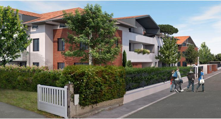 Résidence « Le 14 Cantegril » programme immobilier neuf en Loi Pinel à Mondonville n°3