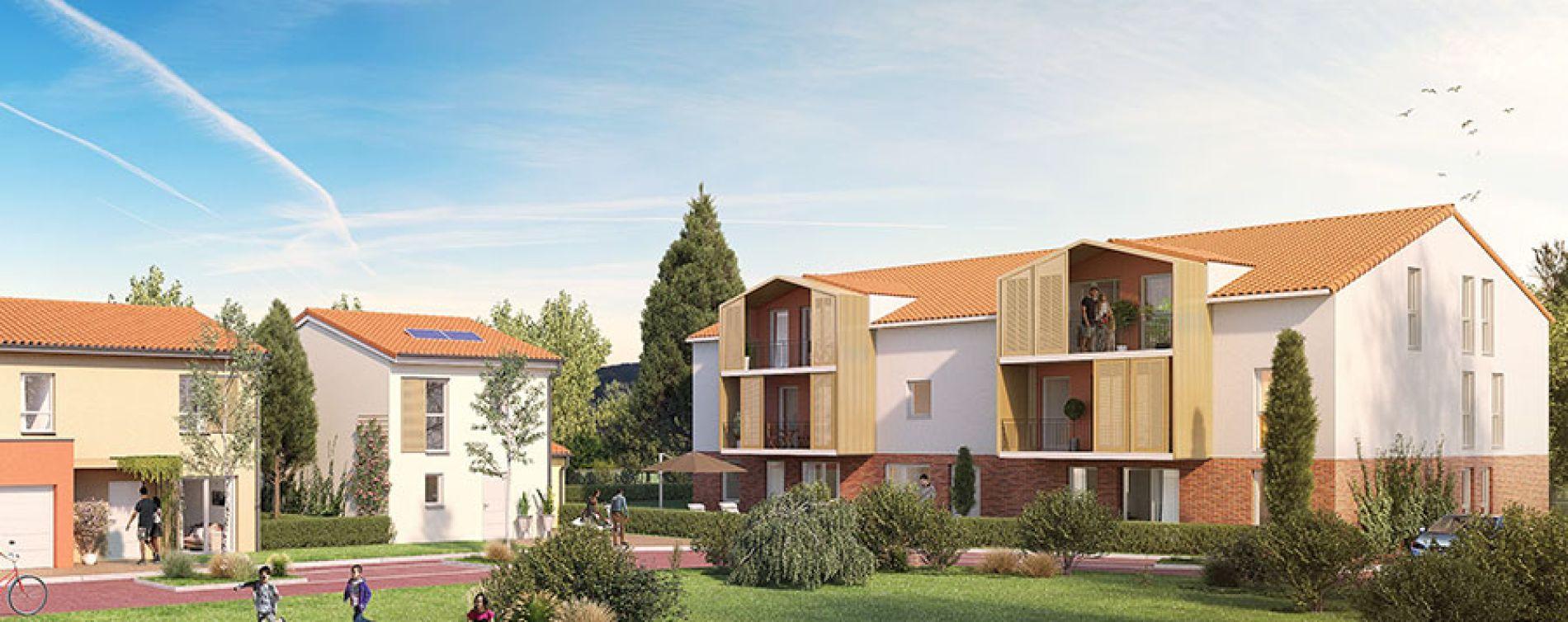 Mondonville : programme immobilier neuve « Les Jardins des Deux Chênes » en Loi Pinel