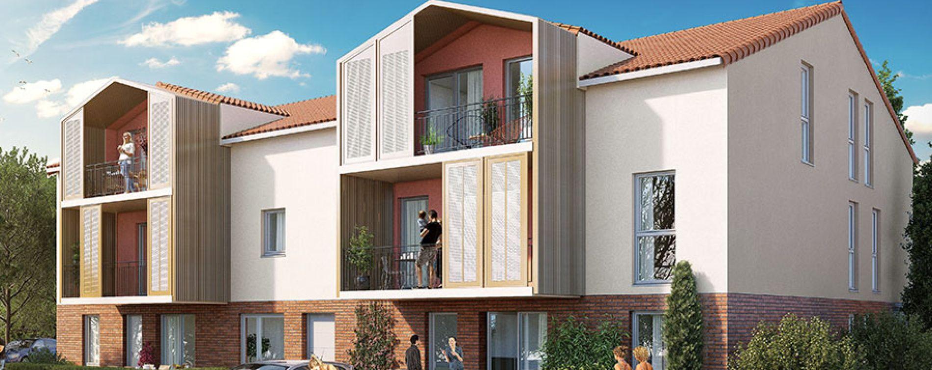 Mondonville : programme immobilier neuve « Les Jardins des Deux Chênes » en Loi Pinel (2)