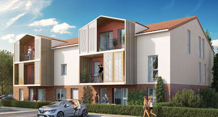 Résidence « Les Jardins Des Deux Chênes » programme immobilier neuf en Loi Pinel à Mondonville n°2