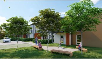 Mondonville programme immobilier neuf « Patio Lina » en Loi Pinel