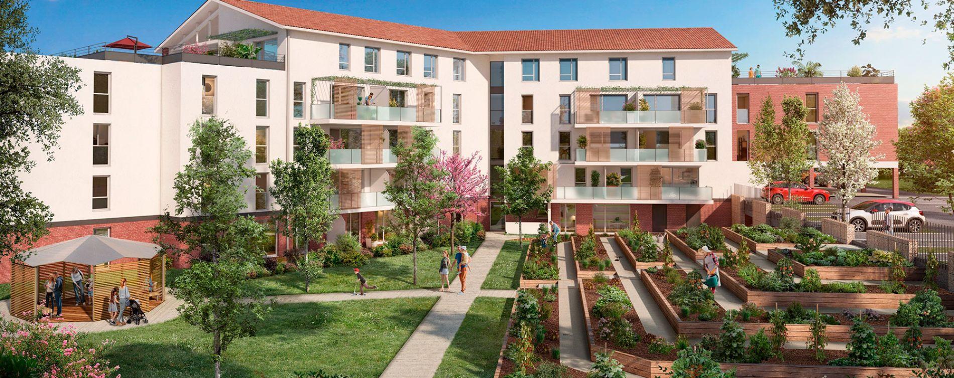 Montrabé : programme immobilier neuve « Domaine Marignac » en Loi Pinel (2)