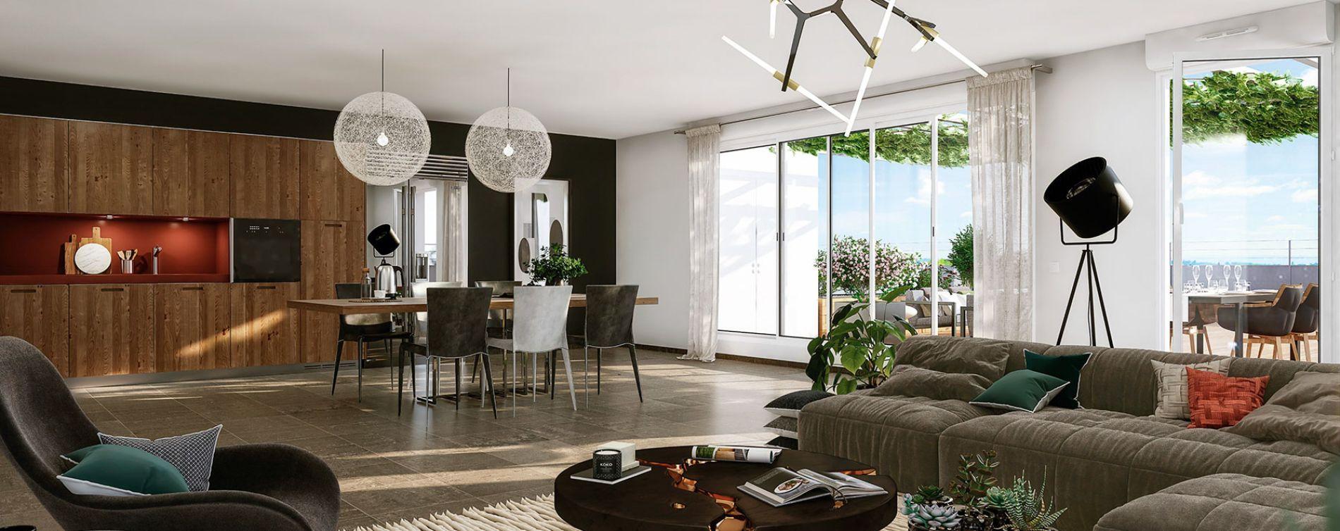 Montrabé : programme immobilier neuve « Domaine Marignac » en Loi Pinel (3)
