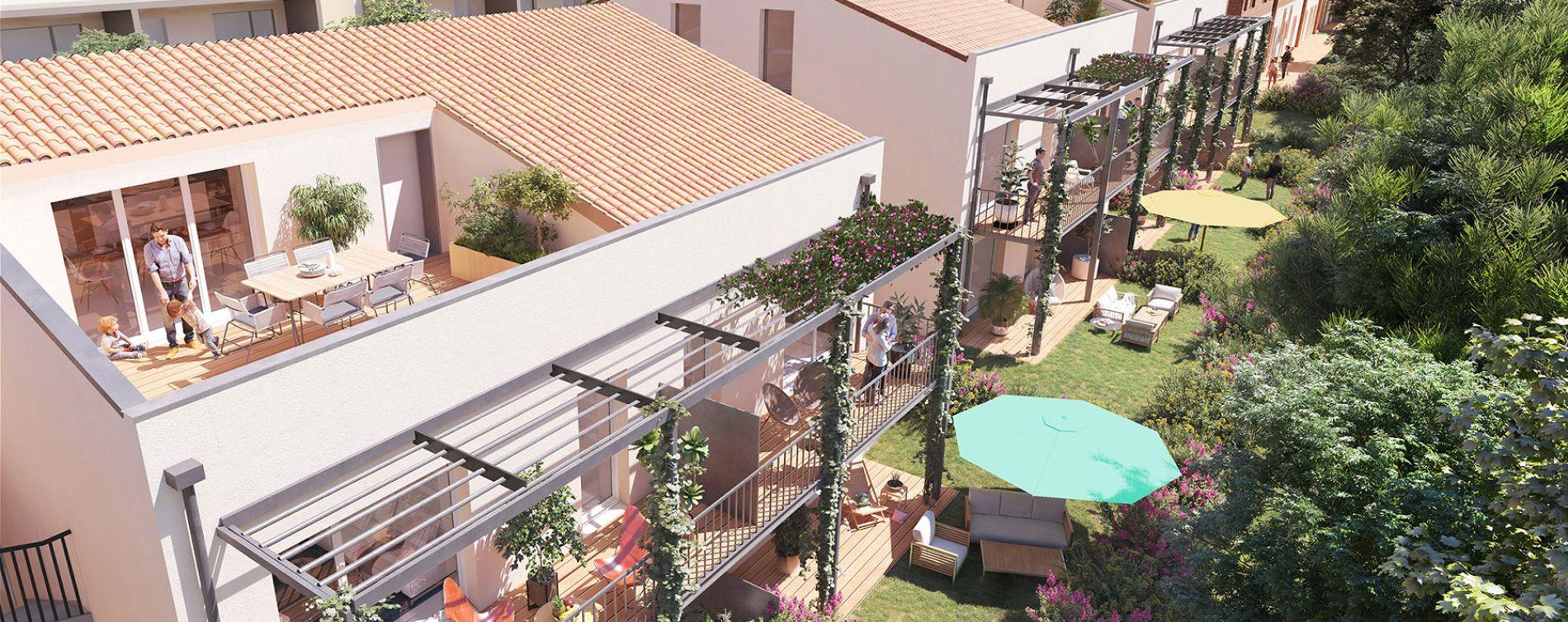 Montrabé : programme immobilier neuve « Domaine Val Rose » en Loi Pinel (2)
